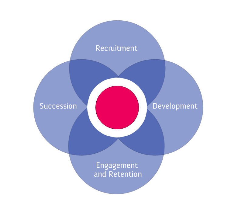 4 pillars of talent management